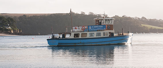 Ferry from St Mawes to Falmouth