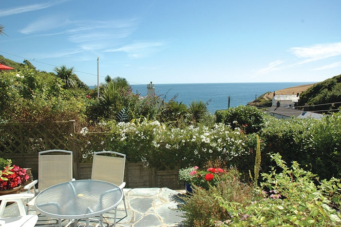 details is portloe accommodation cosy former a mid holiday image property terrace cottages cottage dolphin description