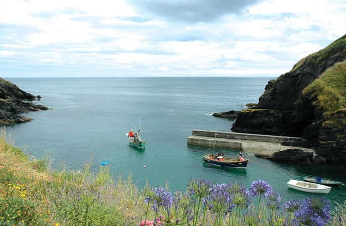 holiday sc harbour self catering kerbenetty portloe cottage cottages cornwall photo
