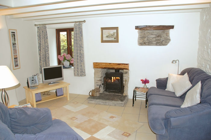 portloe cottage hill cornwall catering beach cottages peninsula holiday roseland self
